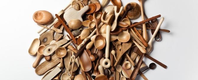 Diseño de producto: una cuchara de madera al día