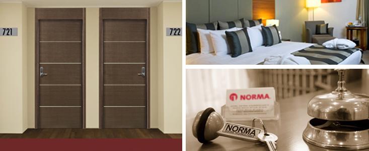 Blog de norma doors puertas norma la importancia de for Modelos de puertas para habitaciones
