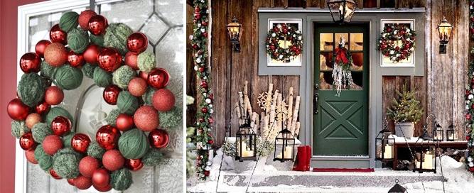 Ideas para decorar tu casa en Navidad, paredes, puertas y ventanas
