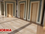Interior de la fábrica de Norma Doors-Puertas Norma