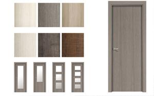 Puertas de interior tendencias - Colores para puertas de madera interiores ...