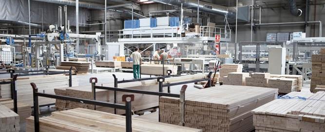Imagen de la fábrica de Puertas Norma Doors