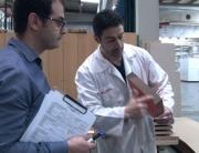 Imagen de la realización del test de certificado Aenor N