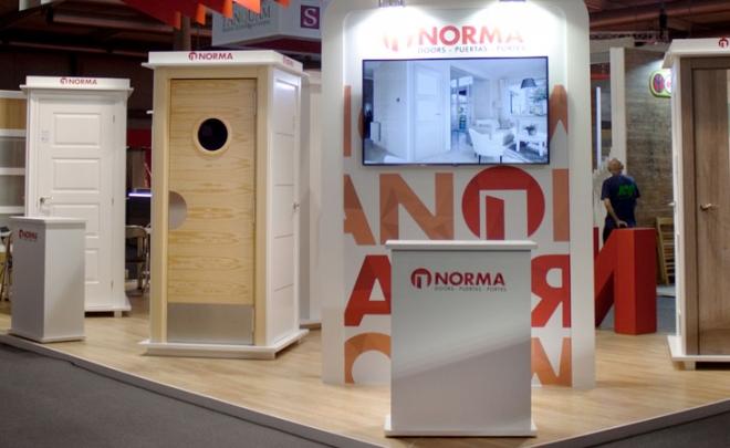 Norma Doors recibe una gran acogida en Construmat 2017