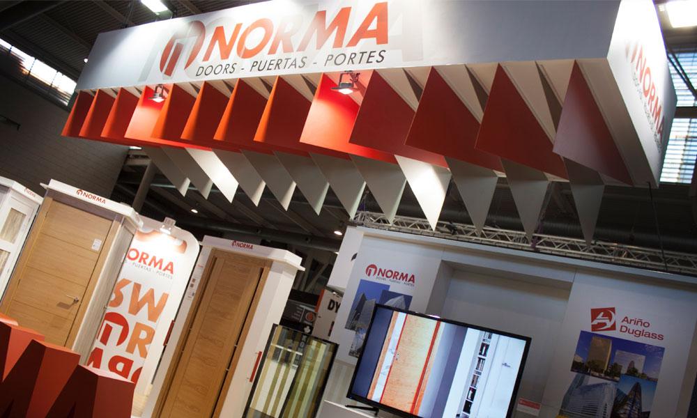 Gran acogida de Norma Doors en Construmat 2017